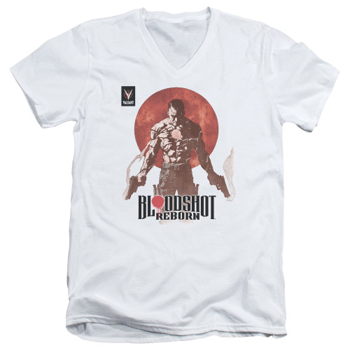Image for Bloodshot V Neck T-Shirt - Reborn