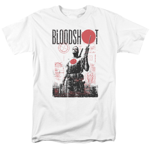 Image for Bloodshot T-Shirt - Death By Tech