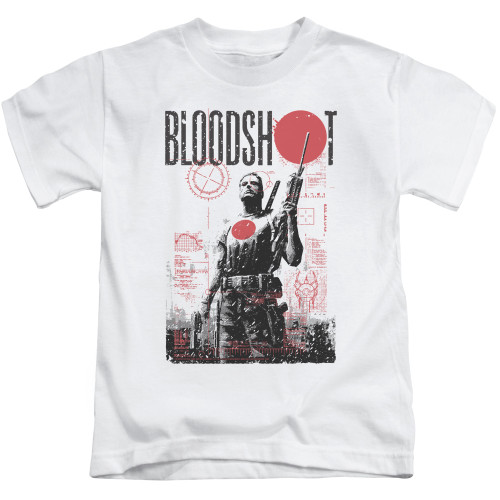 Image for Bloodshot Kids T-Shirt - Death By Tech
