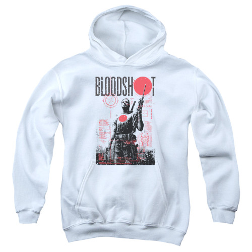 Image for Bloodshot Youth Hoodie - Death By Tech