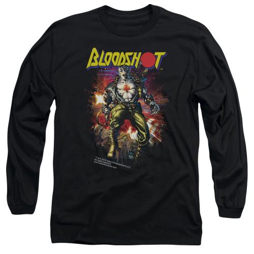 Image for Bloodshot Long Sleeve Shirt - Vintage Bloodshot