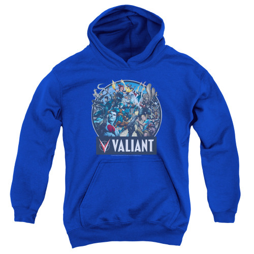 Image for Valiant Youth Hoodie - Ready for Action