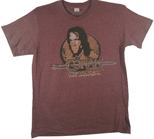 Image Closeup for Conan the Barbarian T-Shirt - Classic
