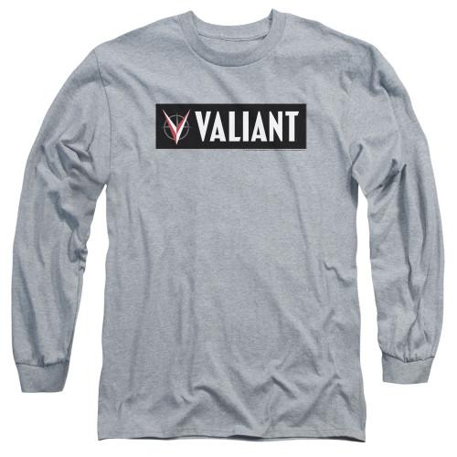 Image for Valiant Long Sleeve Shirt - Horizontal Logo