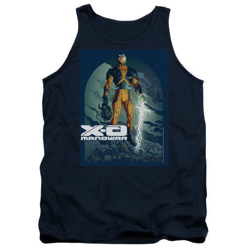Image for X-O Manowar Tank Top - Planet Death