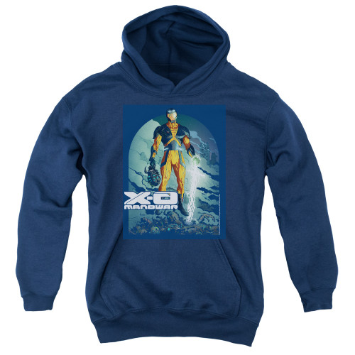 Image for X-O Manowar Youth Hoodie - Planet Death