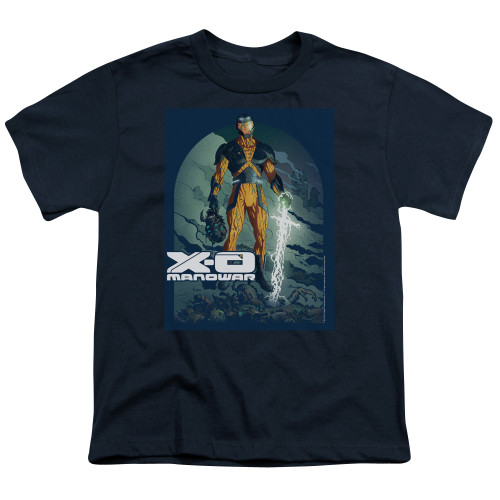 Image for X-O Manowar Youth T-Shirt - Planet Death