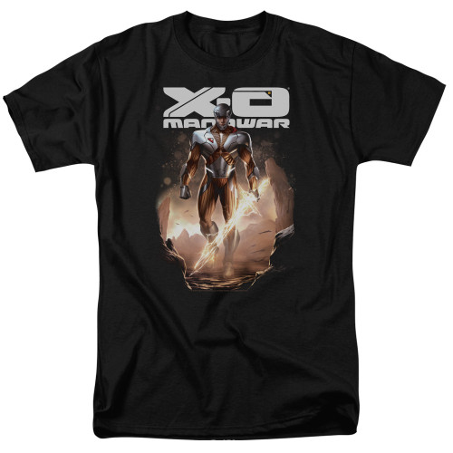 Image for X-O Manowar T-Shirt - Lightning Sword