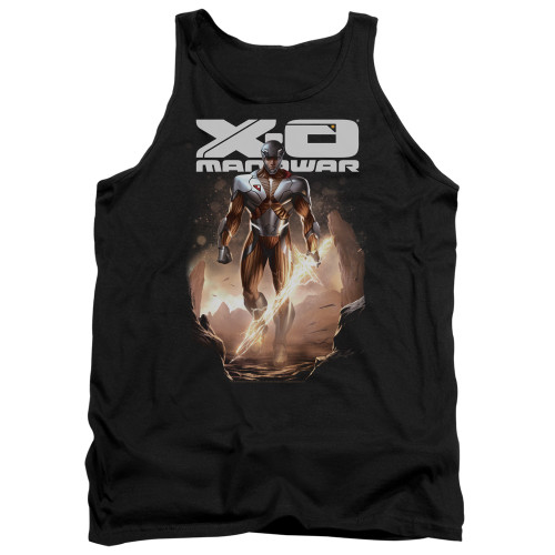 Image for X-O Manowar Tank Top - Lightning Sword