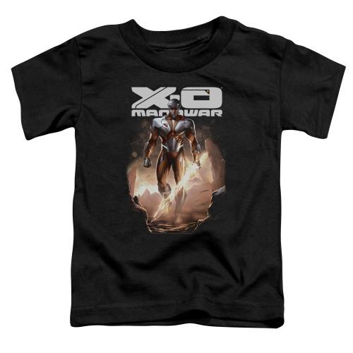 Image for X-O Manowar Toddler T-Shirt - Lightning Sword