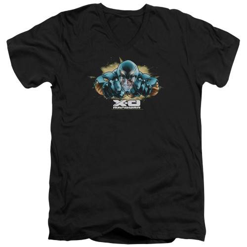 Image for X-O Manowar V Neck T-Shirt - Fly