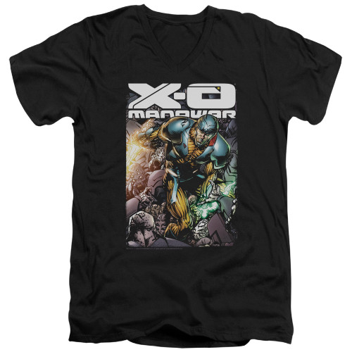 Image for X-O Manowar V Neck T-Shirt - Pit