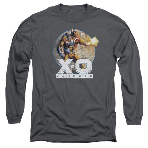 Image for X-O Manowar Long Sleeve Shirt - Vintage Manowar