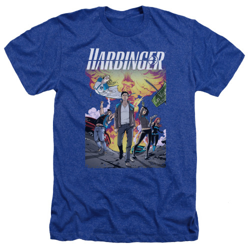 Image for Harbinger Heather T-Shirt - Foot Forward