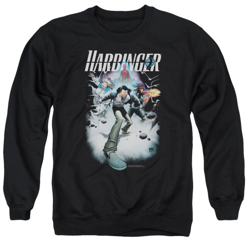 Image for Harbinger Crewneck - Flame Eyes