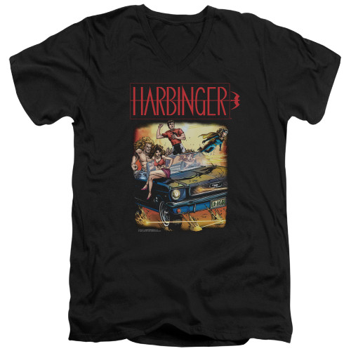 Image for Harbinger V Neck T-Shirt - Vintage