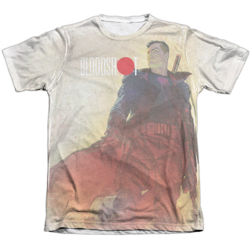 Image Closeup for Bloodshot Sublimated T-Shirt - War