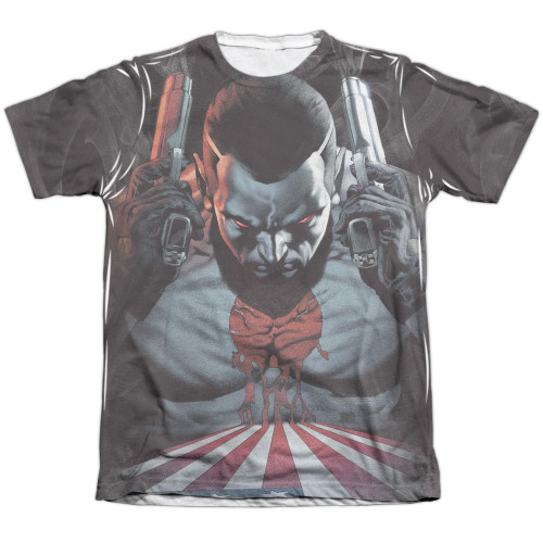 Image detail for Bloodshot Sublimated T-Shirt - World on Fire