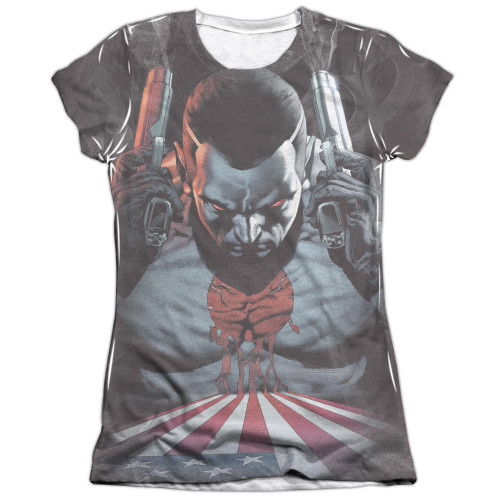 Image detail for Bloodshot Girls Sublimated T-Shirt - World on Fire