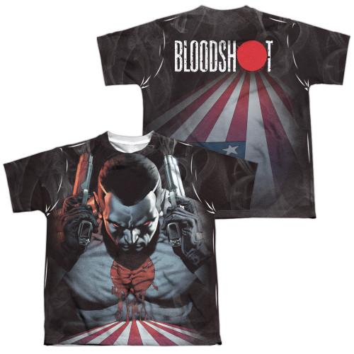 Image Closeup for Bloodshot Sublimated Youth T-Shirt - World on Fire