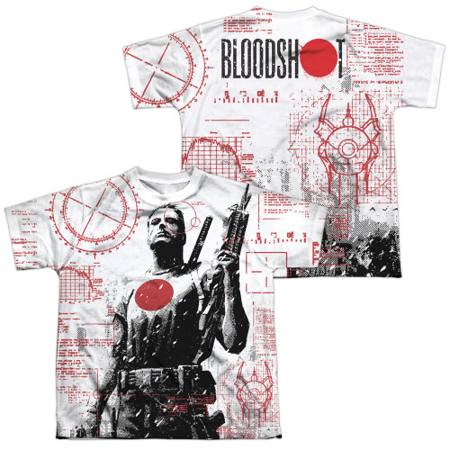 Image Closeup for Bloodshot Sublimated Youth T-Shirt - Tactical