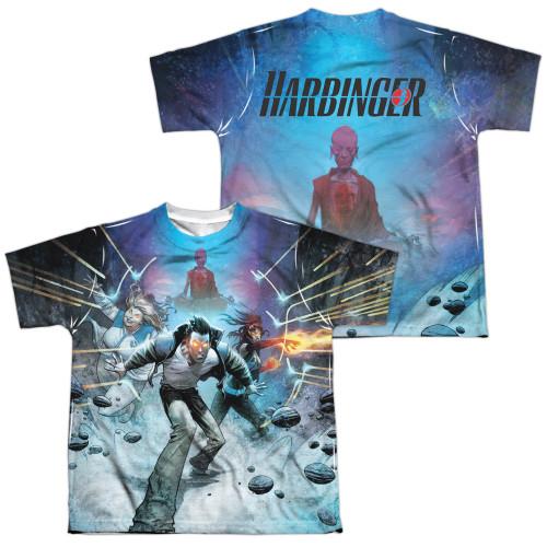 Image Closeup for Harbinger Sublimated Youth T-Shirt - Eyes