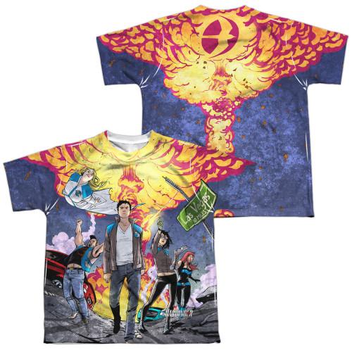 Image Closeup for Harbinger Sublimated Youth T-Shirt - Las Vegas 10 Miles