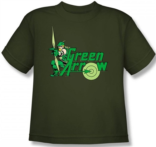 Image for Green Arrow Youth T-Shirt