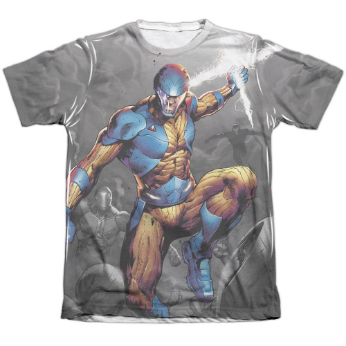 Image detail for X-O Manowar Sublimated T-Shirt - Warmonger