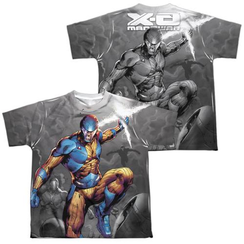 Image Closeup for X-O Manowar Sublimated Youth T-Shirt - Warmonger