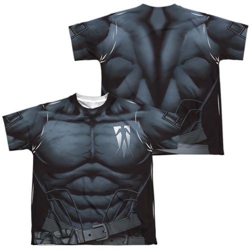Image Closeup for Valiant Sublimated Youth T-Shirt - Shadowman Uniform