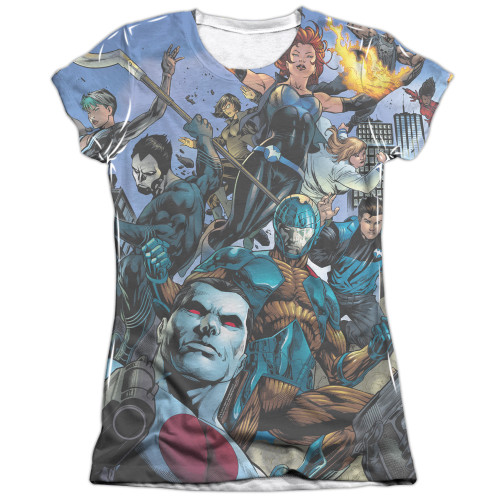 Image detail for Valiant Girls Sublimated T-Shirt - Universe
