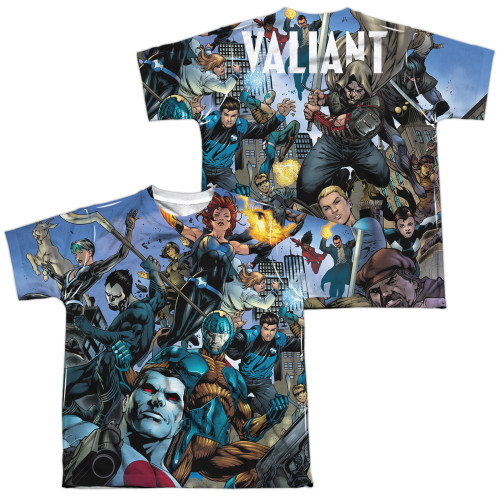 Image Closeup for Valiant Sublimated Youth T-Shirt - Universe