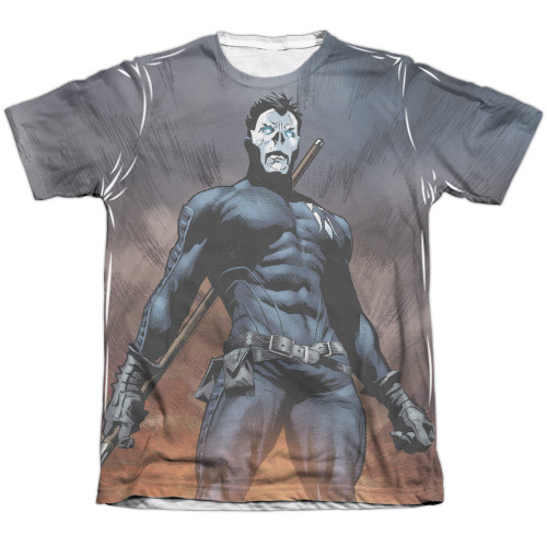 Image detail for Valiant Sublimated T-Shirt - Shadowman Stand Tall
