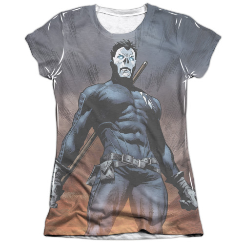 Image detail for Valiant Girls Sublimated T-Shirt - Shadowman Stand Tall
