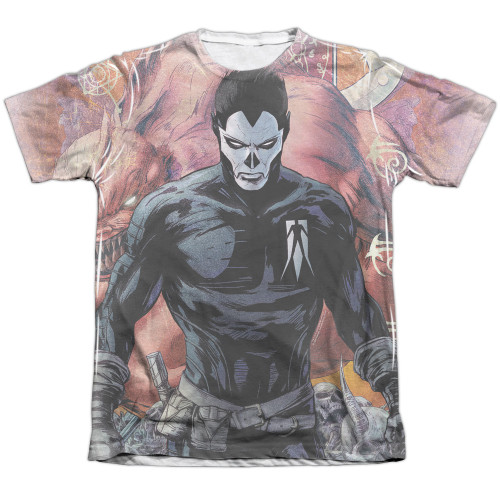 Image detail for Valiant Sublimated T-Shirt - Shadowman Beast