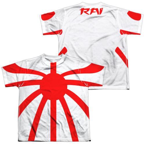 Image Closeup for Valiant Sublimated Youth T-Shirt - Rai Basic Costume