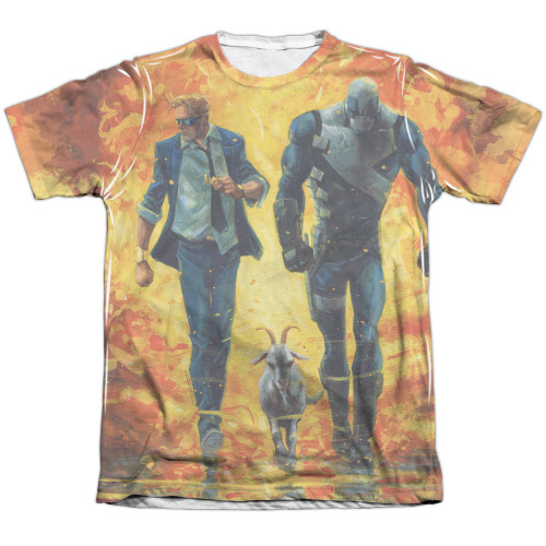 Image detail for Valiant Sublimated T-Shirt - Quantum and Woody Fire It Up