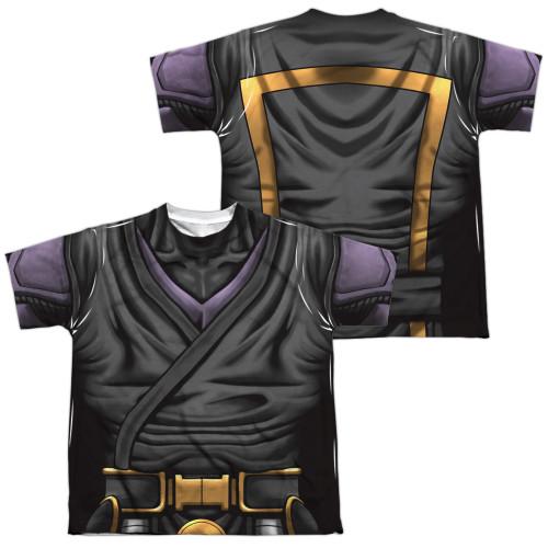 Image Closeup for Valiant Sublimated Youth T-Shirt - Ninjak Uniform