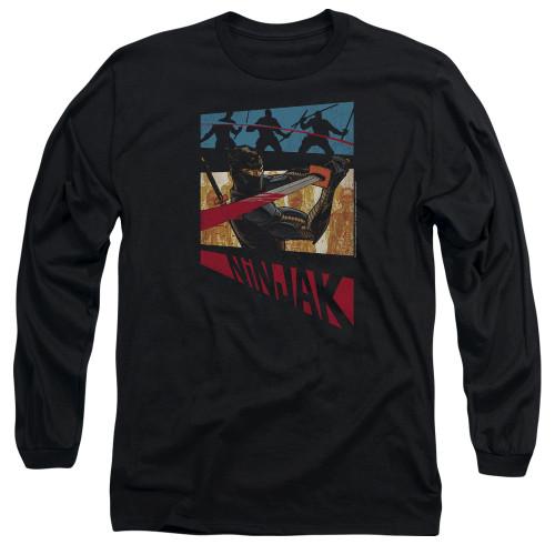 Image for Ninjak Long Sleeve Shirt - Panel