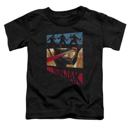 Image for Ninjak Toddler T-Shirt - Panel