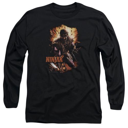 Image for Ninjak Long Sleeve Shirt - Fiery