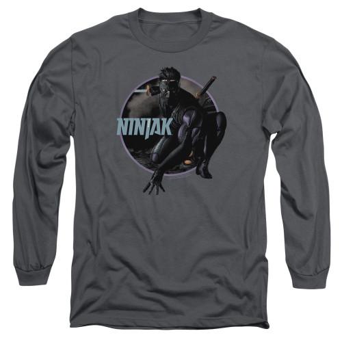 Image for Ninjak Long Sleeve Shirt - Crouching