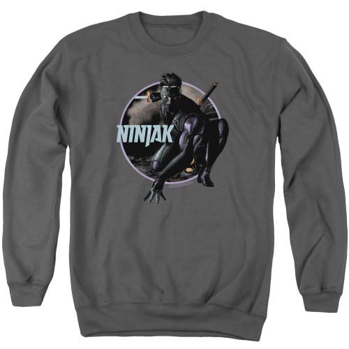 Image for Ninjak Crewneck - Crouching