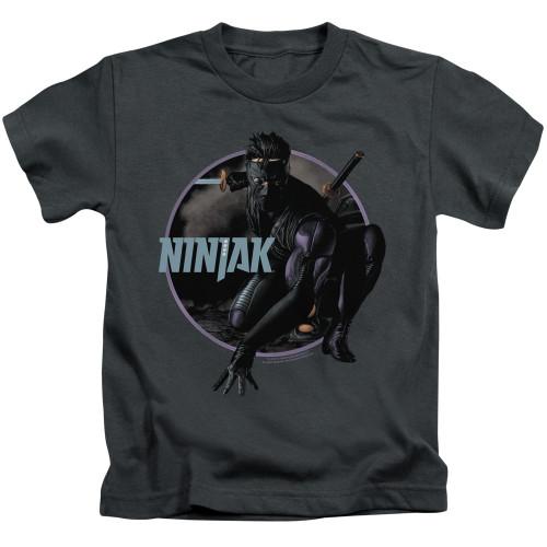 Image for Ninjak Kids T-Shirt - Crouching