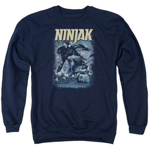 Image for Ninjak Crewneck - Rainy Night