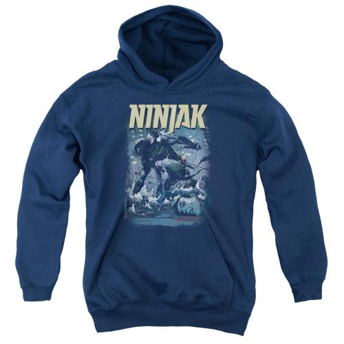 Image for Ninjak Youth Hoodie - Rainy Night