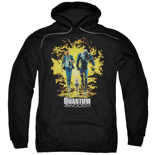Image for Quantum and Woody Hoodie - Explosion