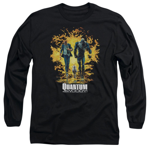 Image for Quantum and Woody Long Sleeve Shirt - Explosion