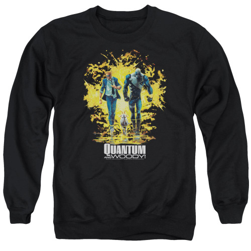 Image for Quantum and Woody Crewneck - Explosion